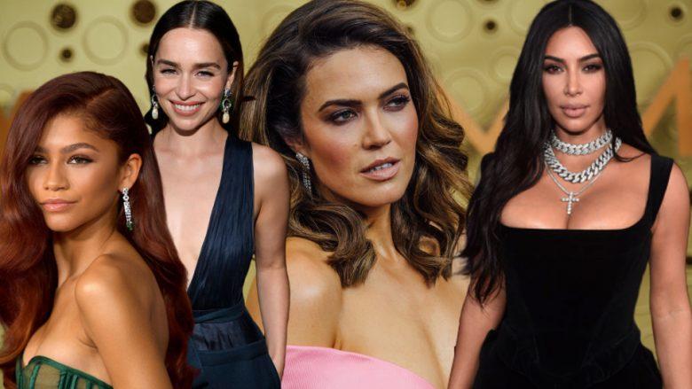 Zendaya, Emilia Clarke, Mandy Moore dhe Kim Kardashian (Fotomontazh: Getty Images/Guliver)