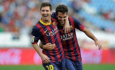 Fabregas: Messi ka qenë më i miri për 15 vjet, vështirë të lind edhe një tjetër si ai