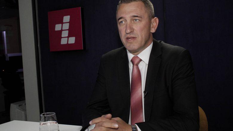 Kandidati për kryeministër nga radhët e koalicionit 'Sloboda', në një intervistë në Telegrafi.com/Foto: Ridvan Slivova