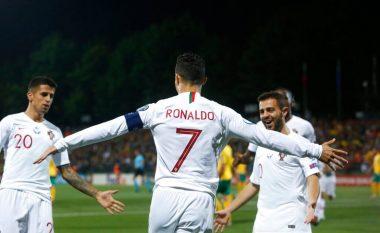 Ronaldo vendos rekord në eliminatore pas katër golave me Portugalinë