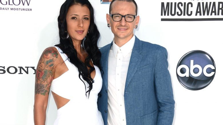 Talinda Ann Bentley dhe Chester Bennington (Foto: Frazer Harrison/Getty Images for ABC/Guliver)