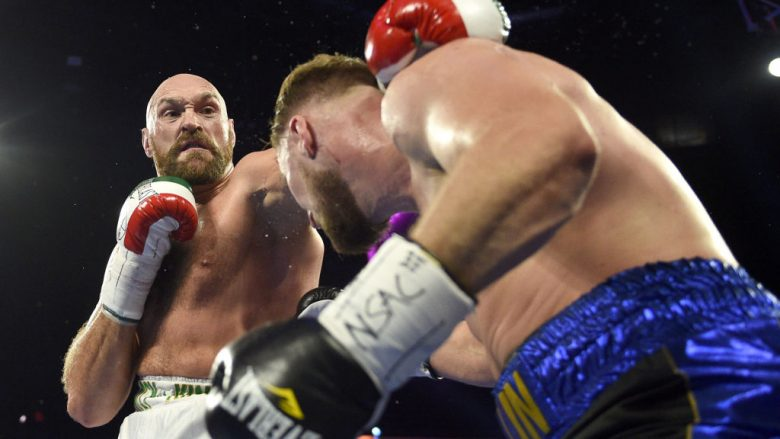 Tyson Fury dhe Otto Wallin (Foto: David Becker/Getty Images/Guliver)