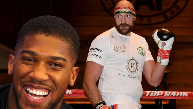 Anthony Joshua, Tyson Fury (Fotomontazh: Getty Images/Guliver)