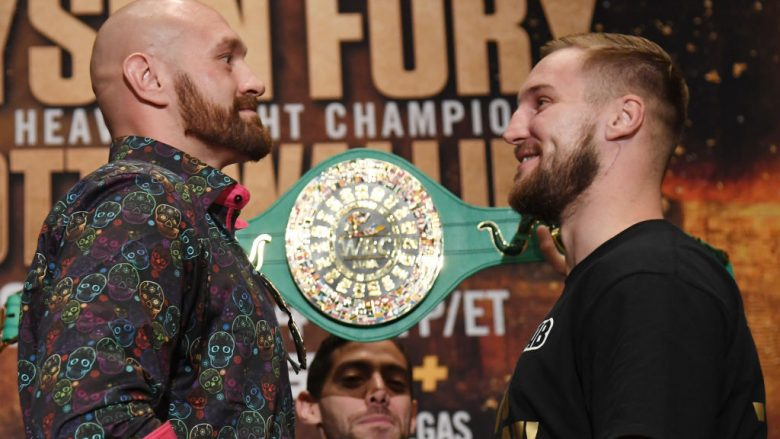 Tyson Fury dhe Otto Wallin (Foto: Ethan Miller/Getty Images/Guliver)