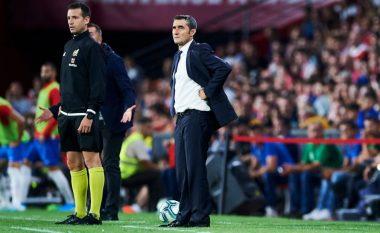 Valverde i shqetësuar me humbjen nga Granada