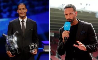 Ferdinand: Van Dijk nuk e meritoi çmimin 'Lojtari i Vitit' nga UEFA