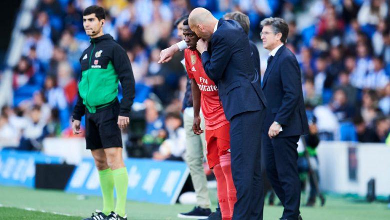 Zinedine Zidane - Vinicius Junior (Foto: Juan Manuel Serrano Arce/Getty Images/Guliver)