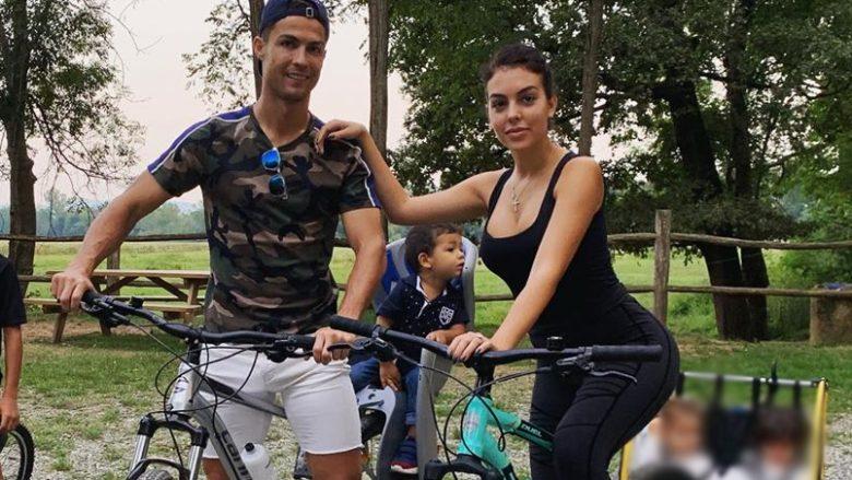 Cristiano Ronaldo dhe Georgina Rodriguez (Foto: Instagram/georginagio)