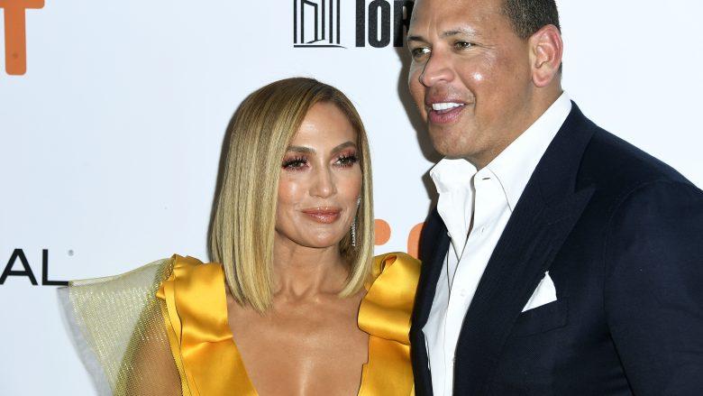 Jennifer Lopez dhe Alex Rodriguez (Foto: Frazer Harrison/Getty Images/Guliver)