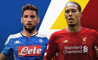 Napoli - Liverpool, formacionet e mundshme