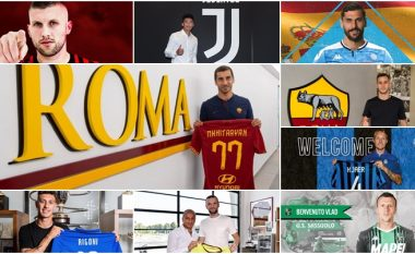 Të gjitha 25 blerjet në ditën e fundit në Serie A, në mesin e tyre edhe një shqiptar