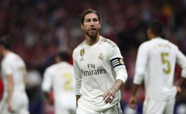 Ramos e ka fyer gjyqtarin anësor në ndeshjen Atletico - Real, pritet dënim i rëndë për spanjollin