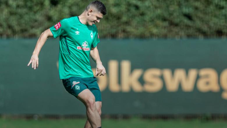 Milot Rashica (Foto: SV Werder Bremen/ Twitter)