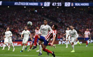 Mbyllet derbi i La Liga-së pa fitues: Shkëlqeu Reali, Atletico me asnjë gjuajtje në portë