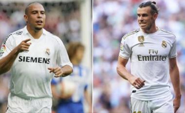 Bale aktualisht ka shënuar po aq gola sa Ronaldo Nazario te Real Madridi