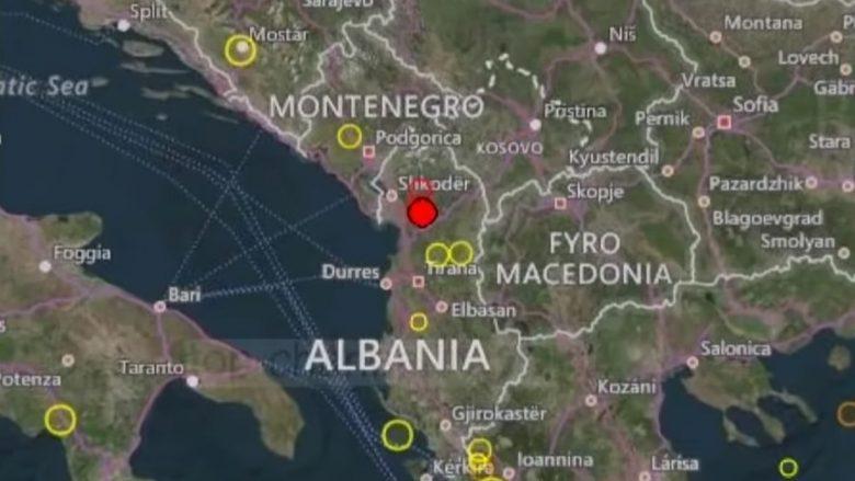 Sërish tërmet: Lëkundje të forta godasin Shqipërinë, magnituda 4