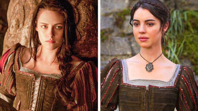 """""""Snow White and the Huntsman"""" (2012) — """"Once Upon a Time"""" (2017)"""