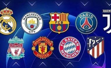 Dhjetë ekipet më të vlefshme në botë momentalisht - City i pari, Barcelona e treta dhe Juventusi i teti