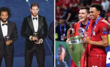 Turpi i FIFA-s: Ramos dhe Marcelo futen në formacionin më të mirë të vitit, Robertson e Arnold mbetën jashtë