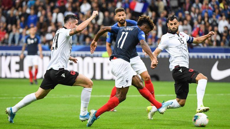 Franca e mposht Shqipërinë në kualifikimet për Euro 2020