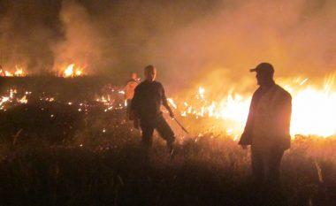 Zjarret në malet e Gjakovës, aktivizohet edhe ushtria
