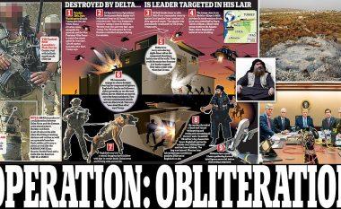"""Nga nisja e njësive elitare Delta Force dhe Rangers deri të kapja e Baghdadit, pamje që tregojnë se Trump vëzhgoi operacionin ushtarak """"Obliteration"""" nga ekrani"""