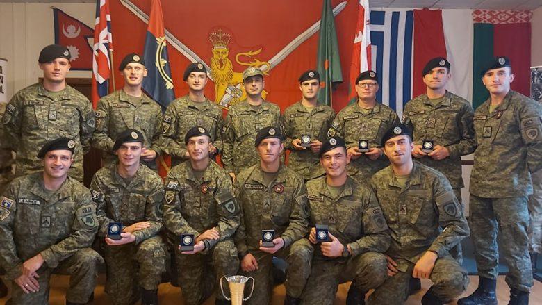 """Forca e Sigurisë e Kosovës zë vendin e dytë në garën ndërkombëtare """"Cambrian Patrol 19"""""""