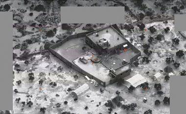 Helikopterë, raketa e plumba të kalibrave të ndryshëm, Pentagoni publikon pamjet e operacionit ushtarak për kapjen e Baghdadit
