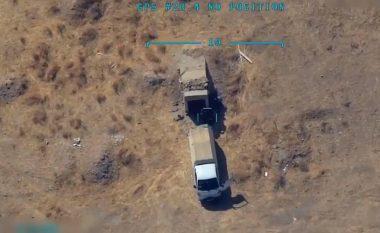 """Thuhet se po bartte municion, publikohen pamjet kur """"aeroplani luftarak turk goditi kamionin e YPG me saktësi"""""""