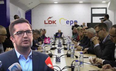 LDK: Nuk do të ketë takime me VV-në për bashkëqeverisje, deri në përfundimin e numërimit të votave