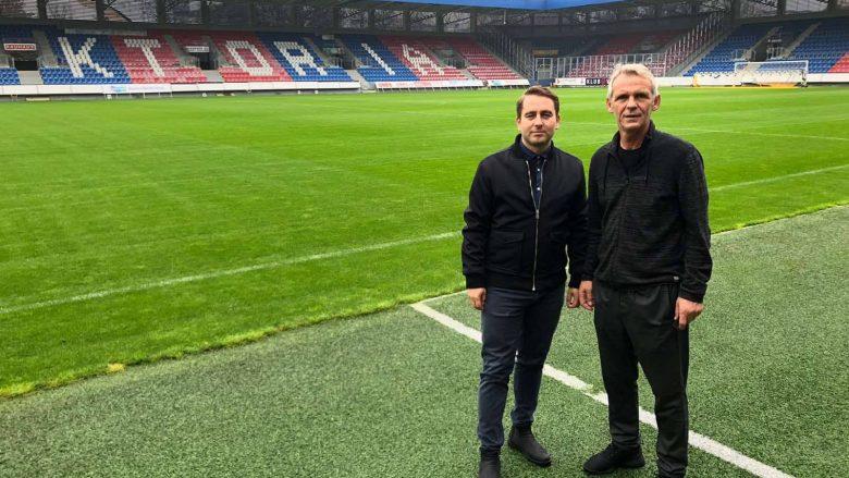 Delegacioni i FFK-së qëndroi në Plzen, vizitohet stadiumi dhe hoteli ku do të qëndrojë ekipi i Kosovës