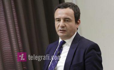 Kurti: Njerëzit nuk duan ta japin Mitrovicën për bashkim kombëtar