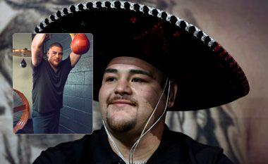 Andy Ruiz tregon dukjen e re dhe e paralajmëron Joshuan se do të jetë më i lehtë, më i shpejtë dhe më i fuqishëm