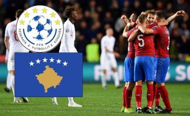 Situata në grupin e Kosovës, pas fitores së Republikës Çeke ndaj Anglisë