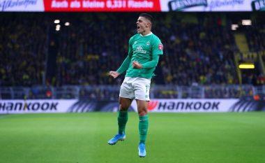 Milot Rashica nuk ndalet, shënon super gol në Kupën e Gjermanisë
