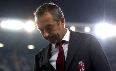 Milani pritet ta shkarkojë Giampaolon