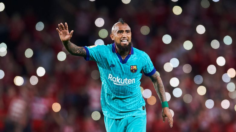 Arturo Vidal. (Photo by Aitor Alcalde/Getty Images)