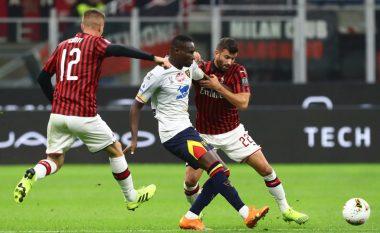 Milani ndalet nga Lecce në San Siro, Stefano Pioli dështon në debutim