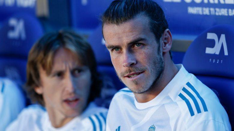 Gareth Bale dhe Luka Modric.  (Photo by Gonzalo Arroyo Moreno/Getty Images)