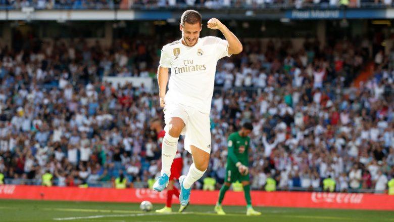 Zidane pas golit të parë të Hazardit: Shpresojmë të ketë shumë pas tij
