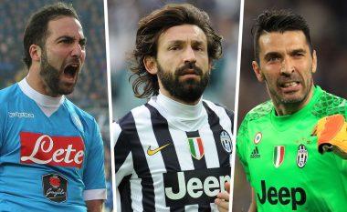 Goal.com zgjedh formacionin e dekadës në Serie A, dominohet nga lojtarët e Juventusit
