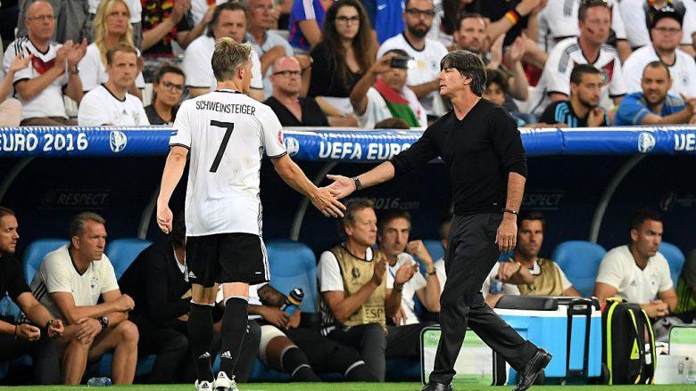 Bastian Schweinsteiger dhe Joachim Low (Foto: Matthias Hangst/Getty Images/Guliver)