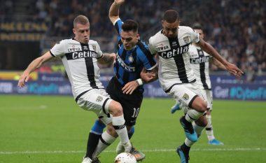 Interi dështon të marr pozitën e parë në Serie A, ndalet nga Parma