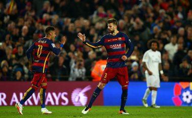 Pique: Lojtarët e Barcelonës ishin të gatshëm të sakrifikonin pagat e tyre për ta rikthyer Neymarin