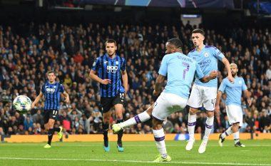 Notat e lojtarëve: Manchester City 5-1 Atalanta, Sterling me notë maksimale
