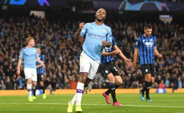 Spektakël nga Aguero dhe Sterling, City me goleadë ndaj Atalantas