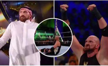 Tyson Fury debuton me fitore në WWE, fiton brenda tetë minutave