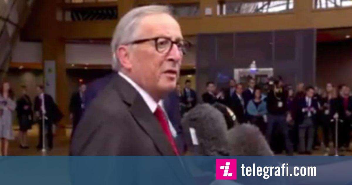 Photo of Juncker humb durimin, i bërtet gazetarit që e ndërpreu derisa po fliste rreth Brexit-it