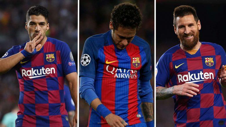 Suarez, Neymar, Messi (Foto: Goal/Getty)