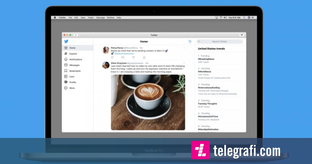 Photo of Twitter rikthehet në Mac, aplikacioni ende nevojitet të zhvillohet